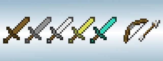 Как сделать меч в майнкрафте?