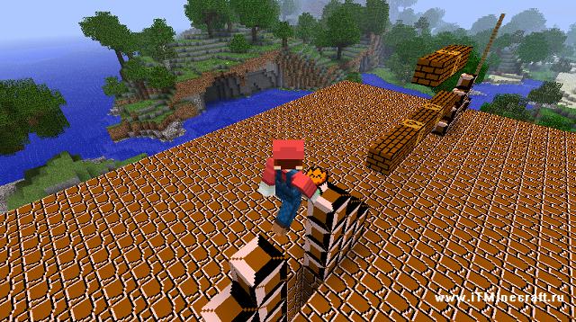 Скачать Minecraft Super Mario mod