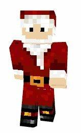 Скин Деда Мороза для Майнкрафт