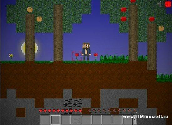 Играть в Майнкрафт 2д