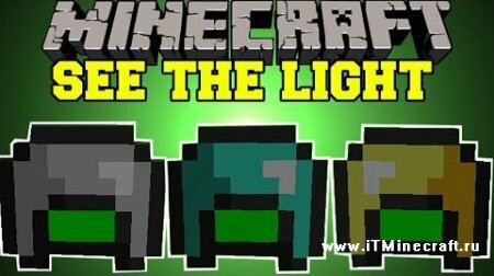 ��� Night Vision Mining Hats 1.8
